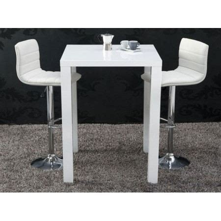 table de bar betty blanc laqu 233 achat vente mange debout table de bar betty blanc laqu 233