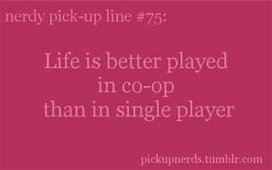 Nerdy Pick-Up Lines