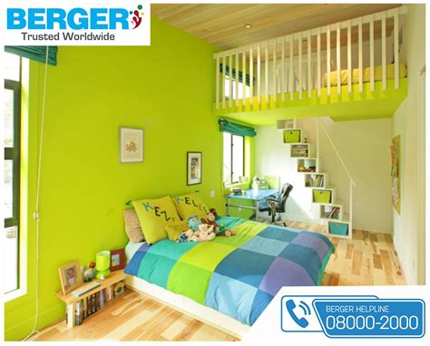 beautiful green paint for bed room berger paints