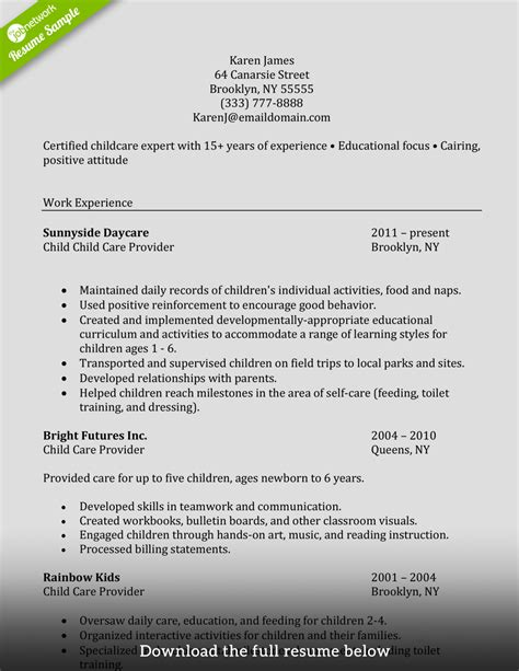 write  perfect caregiver resume examples included