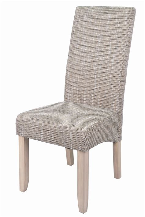 chaise de salle chaise de salle a manger en tissu