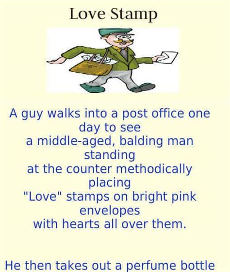 love stamps funny joke   day funny jokes jokes