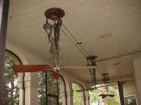 belt driven ceiling fans pre 1950 antique antique