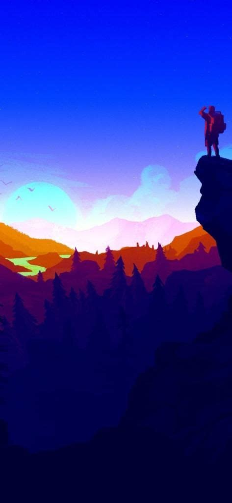 1080p Iphone 8 Wallpaper Hd 4k iphone x 4k wallpaper firewatch blue awesome wallpapers