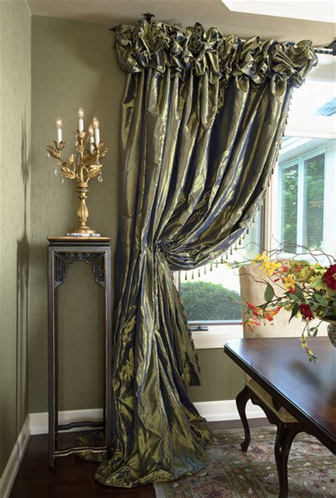 decorating corner window curtain designs corner windows with dining room draperies contemporary dining room