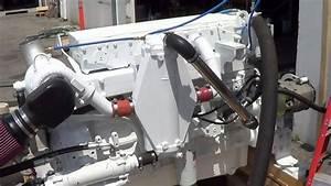Engine Test Of A Cummins Marine Qsm11  Keel Cooled Engine