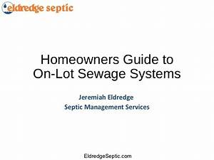 Homeowners Guide To Septic Systems