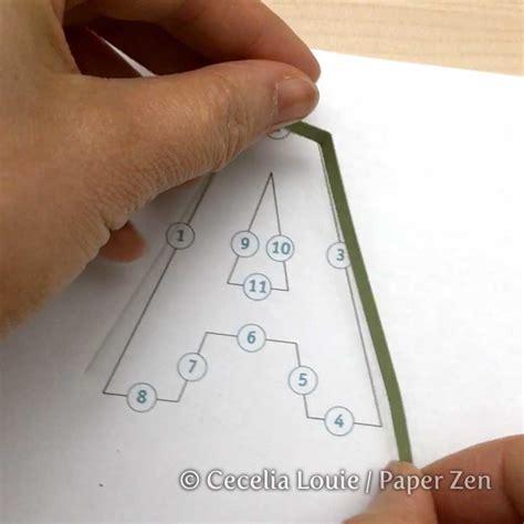 paper zen cecelia louie quilling letters