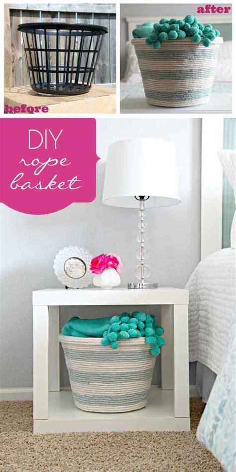 30 Great Ways To Diy With Rope 28  Diy And Crafts Home  Best Diy Ideas