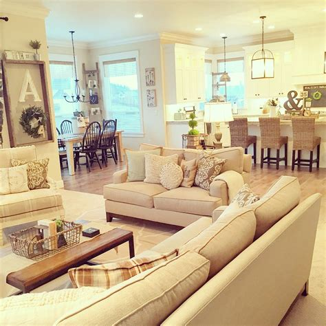 farmhouse interior decorating open space and neutrals in this modern farmhouse interior design and styling by janna