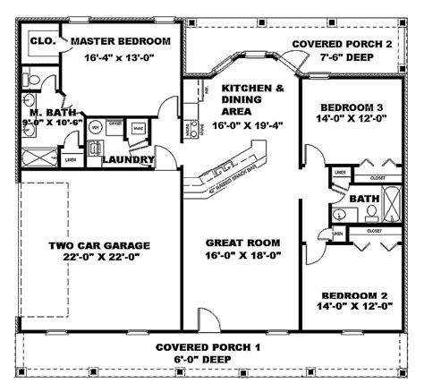 great room house plans one 301 moved permanently