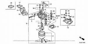 Honda Engines Gx340u1 Qxb7 Engine  Jpn  Vin  Gcamk