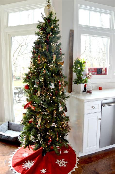white kitchen christmas tour stylish rev