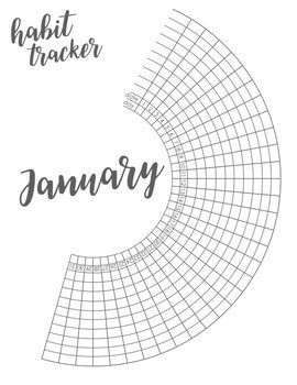 bullet journal habit trackers  students monthly
