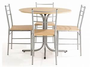 Ensemble Table Et Chaises De Cuisine SPOON Chez Conforama
