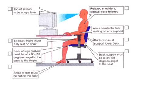 ergonomic sitting at desk mid back pain and how to fix it chiropractor soft