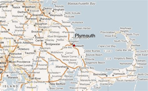 Guide Urbain De Plymouth, Massachusetts
