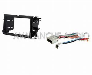 Complete Double Din Ford Car Stereo Radio Dash Installation Kit W   Wire Harness