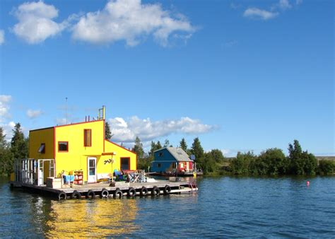 Houseboats Yellowknife by The Last Word On Nothing Yellowknife Houseboat