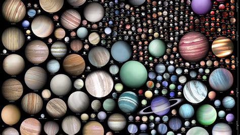 visualisation shows  astonishing diversity