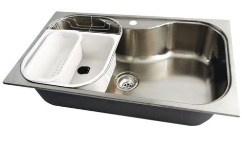 Stainless Steel Large Bowl Kitchen Sink 250807 Canada