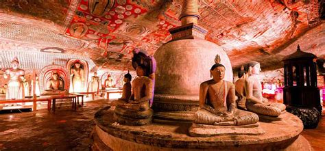 Dambulla Cave Temple Sri Lanka | Golden Temple of Dambulla ...