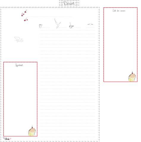 cahier de cuisine vierge 123 cahier de cuisine vierge mon cahier de recettes de