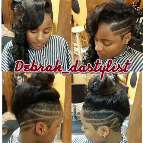 Mohawk Sew In Weave Hairstyles by 290 Best Tapered Undercut Hair Styles Images On