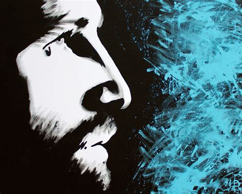 Abstract Black And White Jesus Painting by Jesus Speed Paintings Christian Speed Paintings Painted