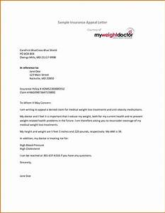 appeal letter to insurance company sample appeal letter With insurance denial appeal letter template