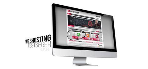 siege web test webhosting bei all inkl unser testsieger mit allen