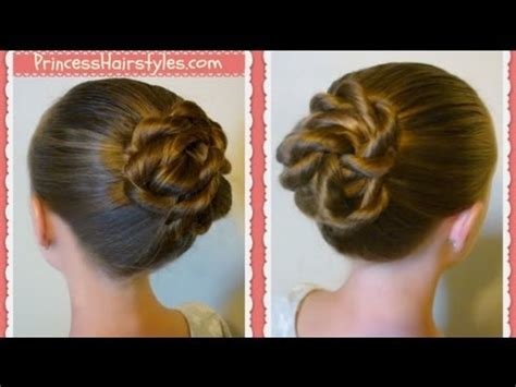 Twisted Knots Hairstyle by Twisted Knot Bun Back To School Hairstyles For Hair
