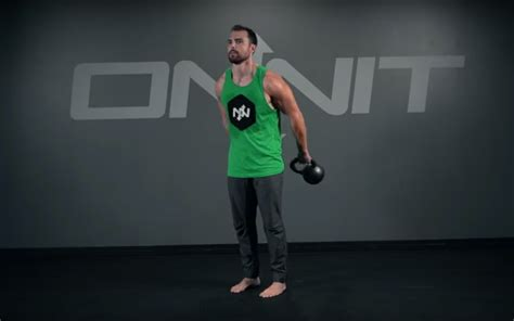 kettlebell around body