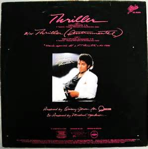 Michael Jackson Thriller Album
