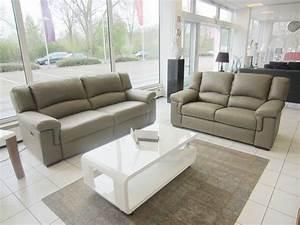 3er Sofa Mit Relaxfunktion : divanotti 3er sofa mit elektrische relaxfunktion 2er sofa in leder schlamm ebay ~ Bigdaddyawards.com Haus und Dekorationen