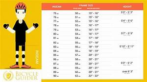 Child Bike Size Chart By Height Road Bike Size Chart Bicycle New England
