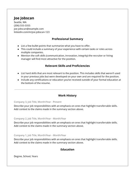 recruiters hate  functional resume format jobscan
