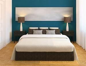 Welche Wandfarbe Schlafzimmer : die wundersch ne und effektvolle wandfarbe petrol ~ Markanthonyermac.com Haus und Dekorationen