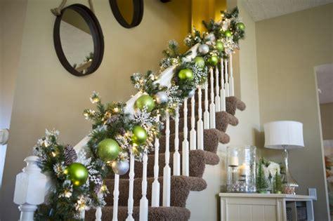 Weihnachtlich Dekorieren by 1001 Dekoideen Weihnachten Das Treppenhaus
