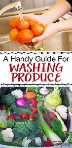 A Handy Guide For Washing Produce