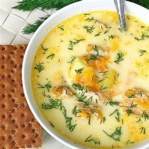 Saldā krējuma laša zivs zupa - INSTA receptes - tavs ...