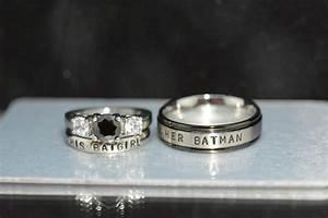 batman diamond wedding ring wwwimgkidcom the image With batman wedding rings for her