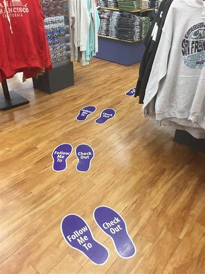 Floor Graphics Signs Graphic Visual Fire Stores
