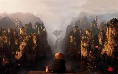 Landscape China Asian Mountain Desktop Fantasy Wallpapers