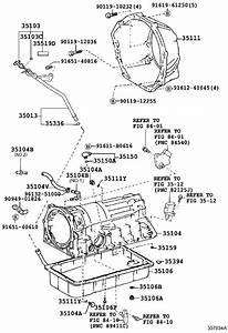 Toyota 4runner Housing  Automatic Transmission  Driveline