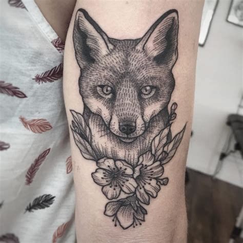fox tattoos    youll