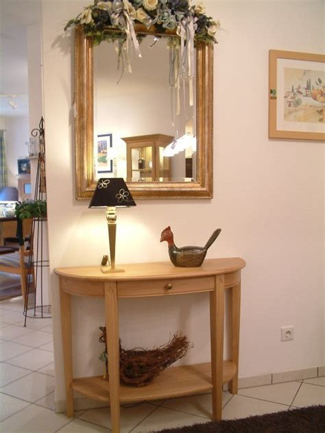 Halbrunder Tisch by Halbrunder Tisch Wandtisch Wandkonsole Eiche Massiv