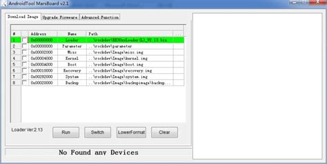 android tool firmware image files using the rockchip tool wiki