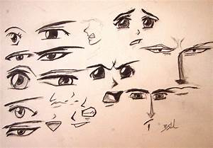Anime Facial Expressions by stinehart on DeviantArt