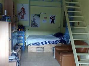 Deco Chambre Ado Garcon : deco chambre ado garcon photo ~ Teatrodelosmanantiales.com Idées de Décoration